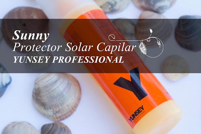 Spray protector solar para el cabello de Yunsey Professional.