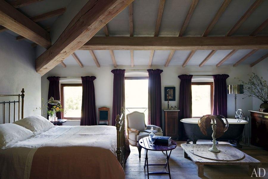 New Home Interior Design Italian Farmhouse