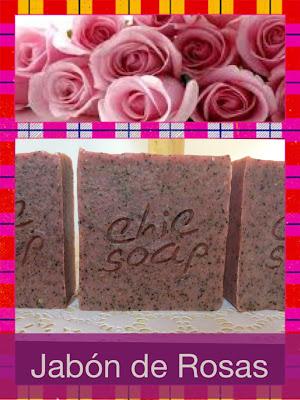 Jabón de Rosas