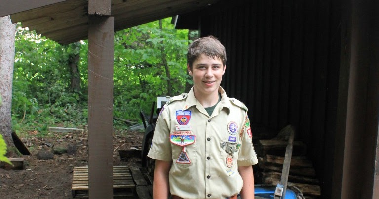 Vermont State Parks Boy Scouts Build A Wood Shed At Camp