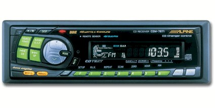 Download this Alpine Car Stereo picture