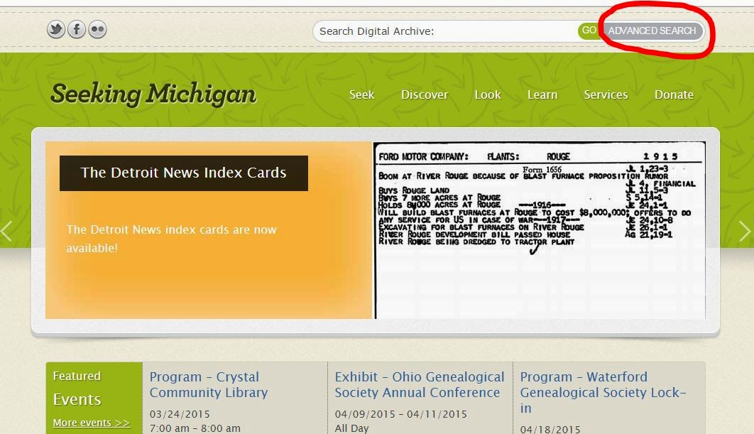 Gone Researching Theyre Here Michigan Death Certificates