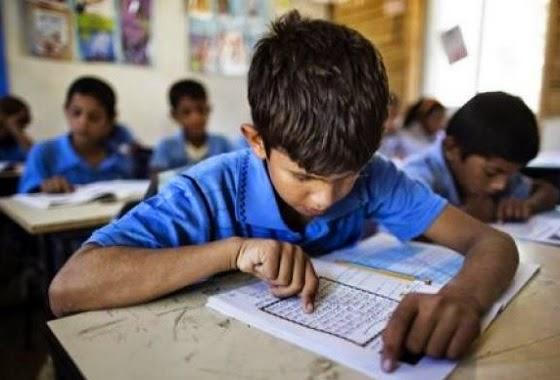 anak-anak di wilayah Jajahan Israel