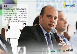 Deputado Dr. Leonardo Albuquerque do PSD por MT