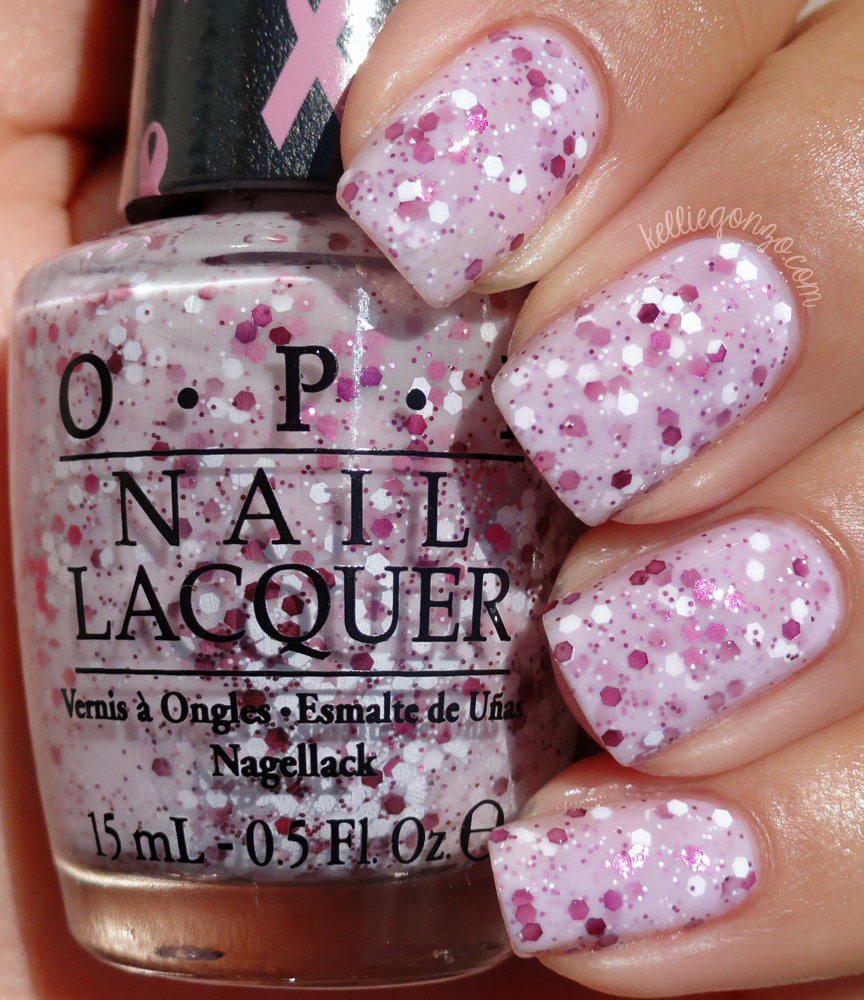 OPI - The Power of Pink // kelliegonzo.com