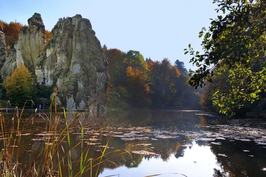 Externstein, Detmold, Tourismus, Fotografie, Nikon