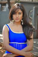 Actress Vithika Sheru Latest Pictures in Blue Salwar Kameez at Paddanandi Premalo Mari Movie First Look Launch  3.jpg