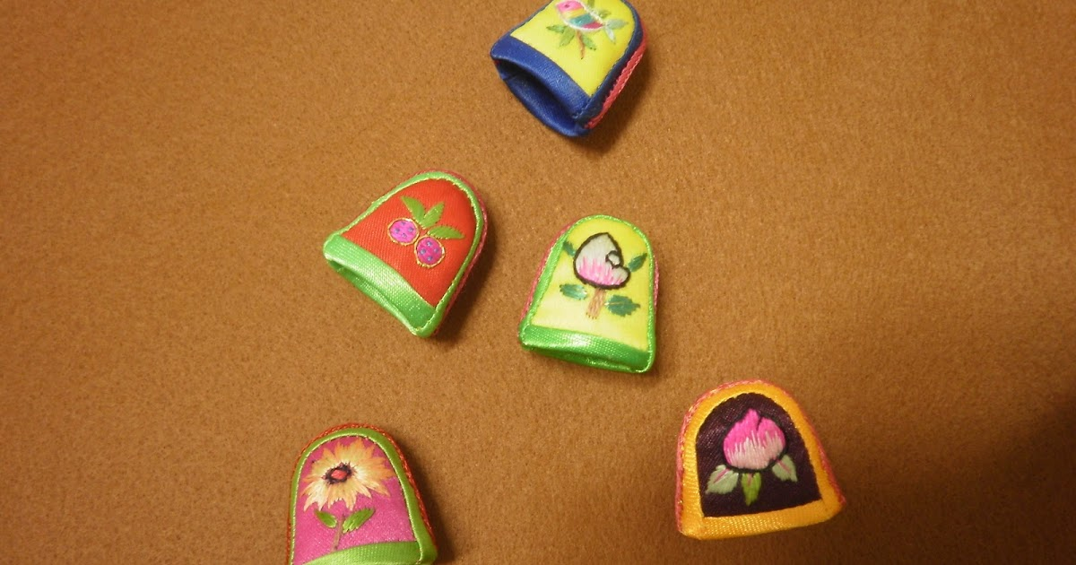 Accesorios productos artesania de asia dedales - Artesania de indonesia ...