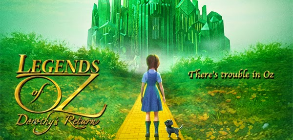 Legends of Oz Dorothys Return Movie Poster
