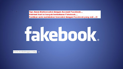 Tips Transaksi Online yang aman dengan Facebook