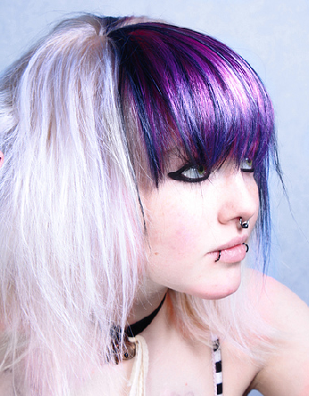 purple hair color ideas 2011
