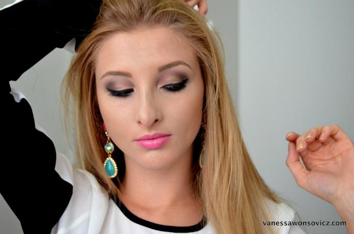 Vanessa Wonsovicz ~ Maquiagens nacionais inspiradoras e tag Blog Natália Sena