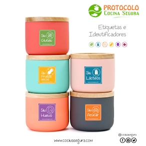 Etiquetas Protocolo CocinaSegura