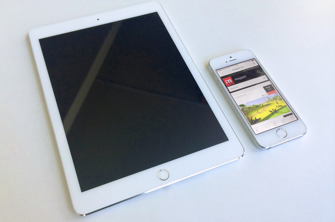 New Leaked Images of iPad Air 2. The new iPad Air 2 looks quite thinner and and offers Apple's Touch ID Fingerprint sensor