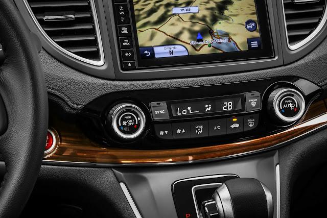 Honda HR-V 2015 - ar-condicionado dual zone