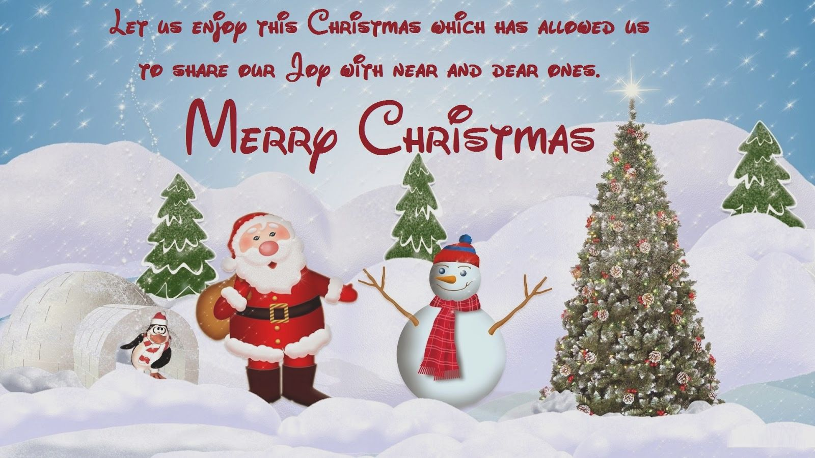 Merry christmas greetings messages images and wishes quotes a december is with full of white snow and a special occasion that represent peace and santa merry christmas and have m4hsunfo