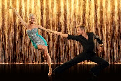 Kellie Pickler and Derek Hough on Dancing with the Stars