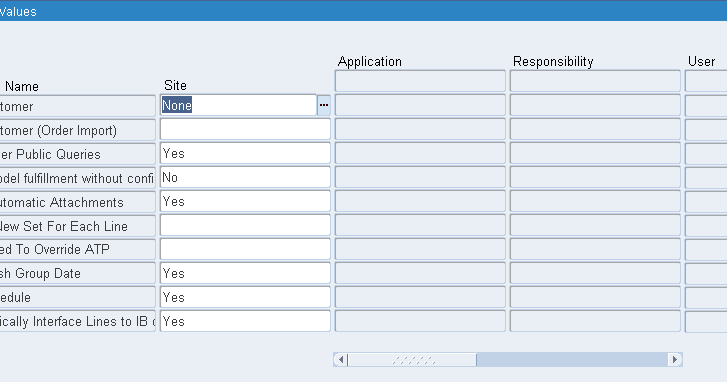 Order Management: Profile Options « Learn Oracle
