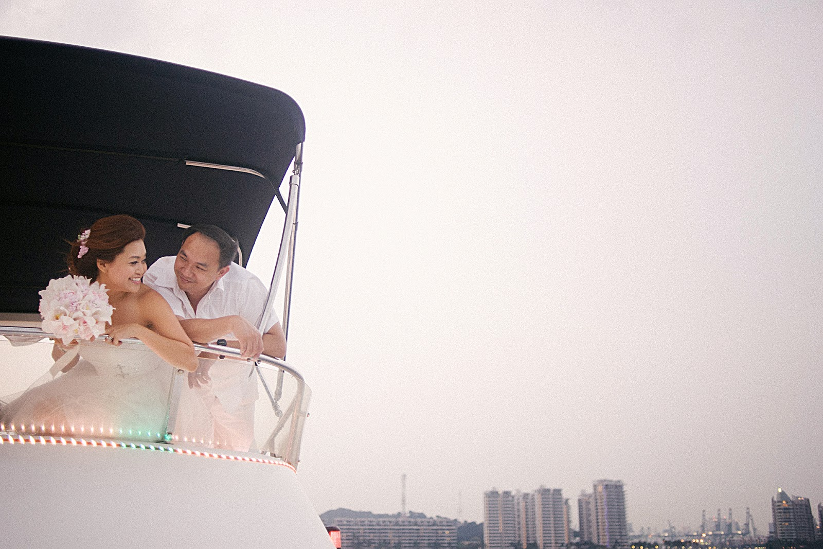wedding photography singapore yacht 06