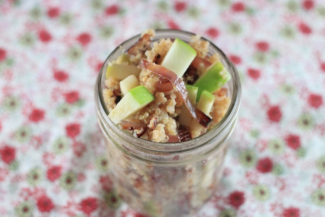 Apple Fest: Quinoa with Caramelized Onions and Apples