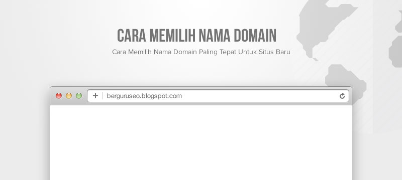 Cara Memilih Nama Domain