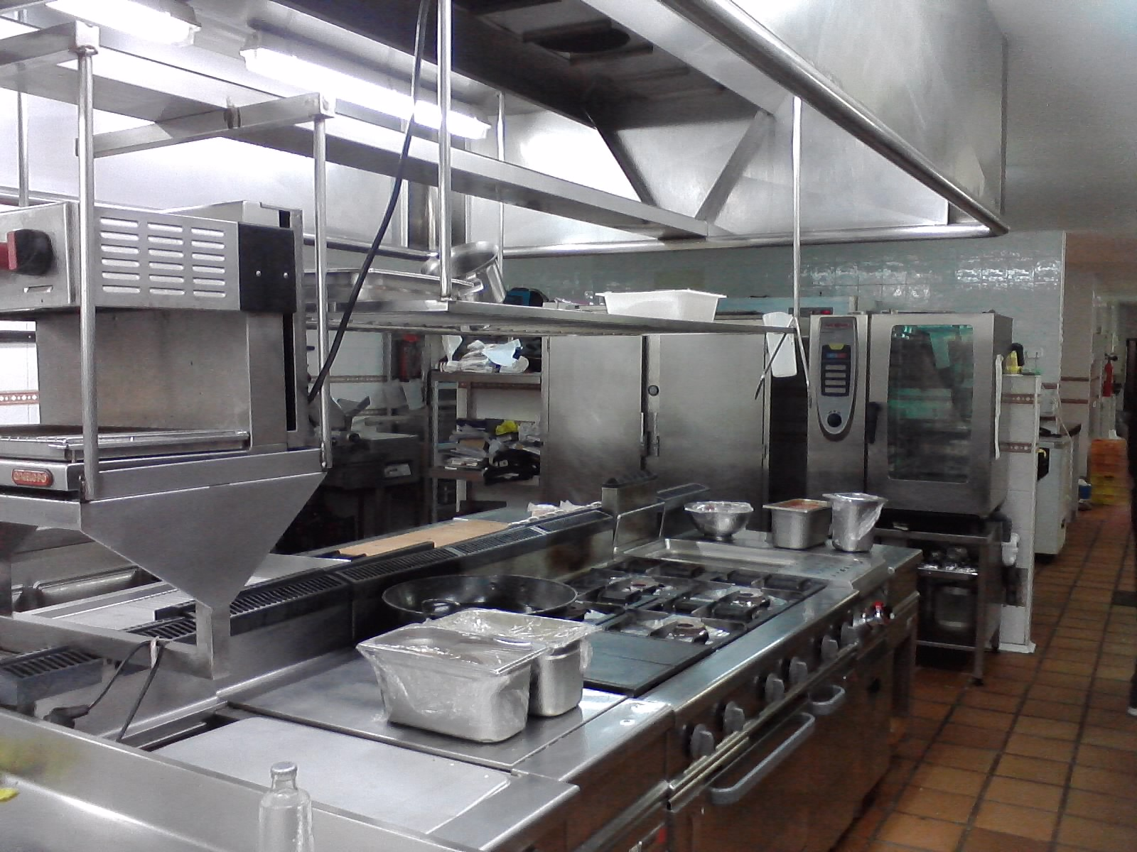 Tallerdehosteler ab sica cocinas for V kitchen restaurant