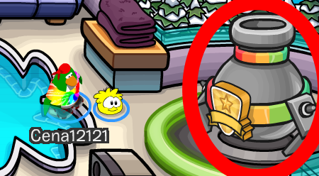 Club Penguin Rainbow Puffle Cheats