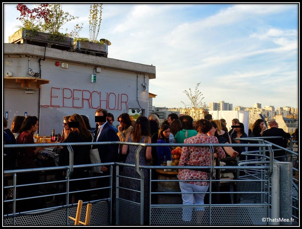 bar perchoir hipster rooftop Paris vue view terrasse, Perchoir cidres perchés soirée privee Paris 11eme