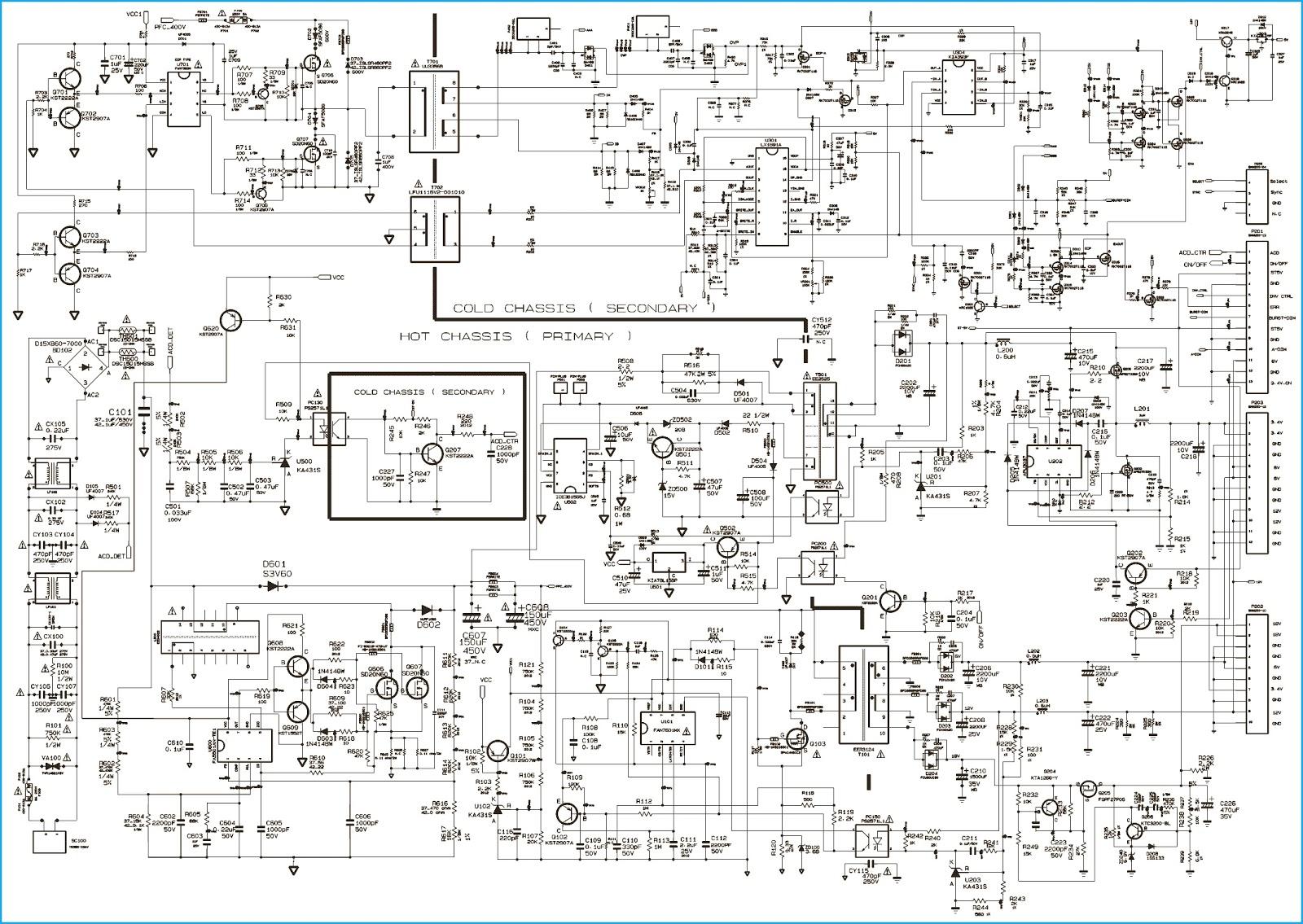 Схемы блоков питания самсунг bn44 612