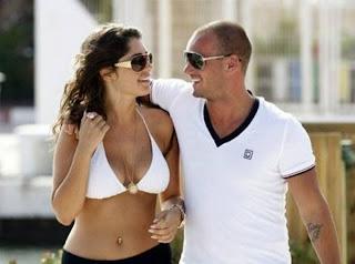 wesley sneijder ve sevgilisi
