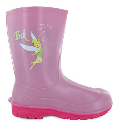 botas tinkerbell feminina para crianças