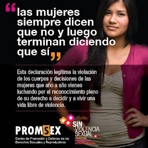 Cuando las Mujeres decimos NO, es un NO!