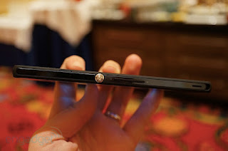 Grosor del Sony Xperia Z