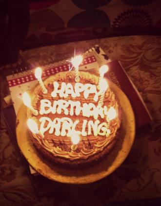 Zoya's birthday cake