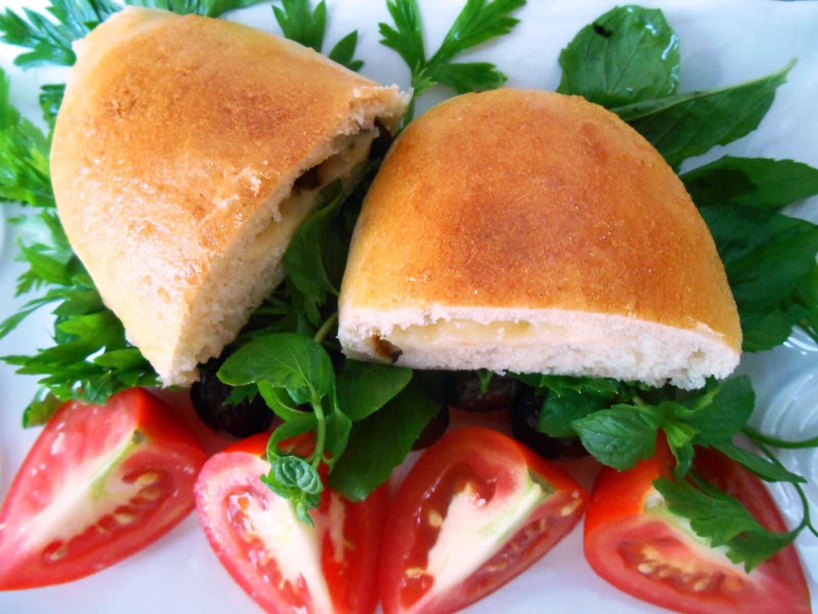 Doldurulmuş Nan ekmeği tarifi