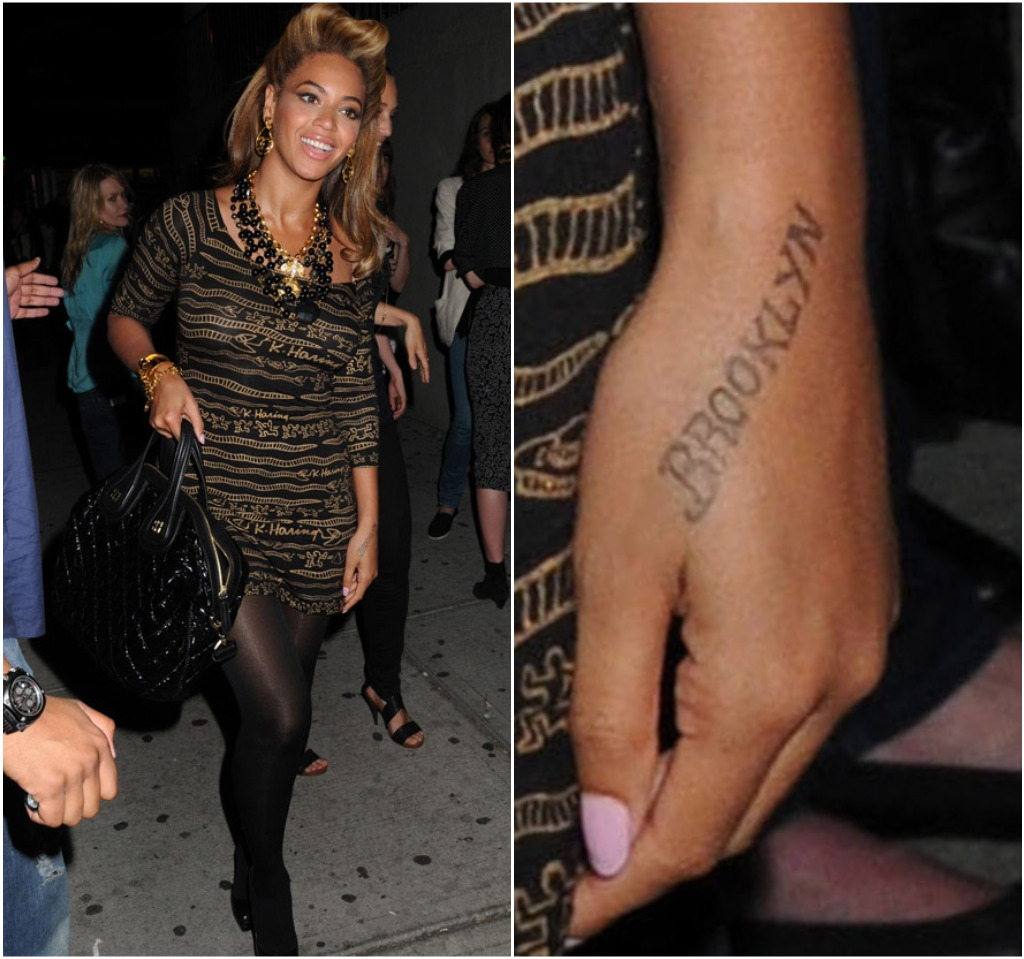 beyonce tatoo info. Black Bedroom Furniture Sets. Home Design Ideas