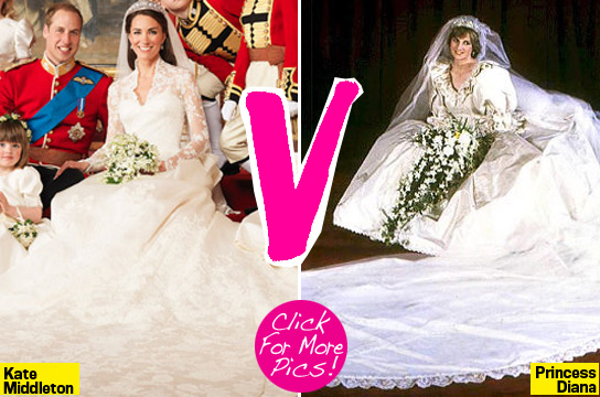kate middleton vs princess diana. Kate Middleton V. Princess
