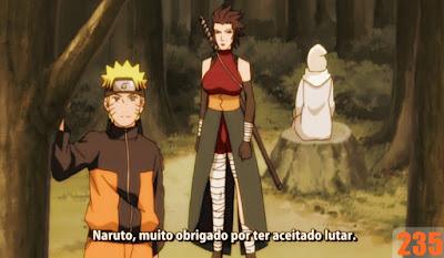 Naruto Shippuden 235 - A Kunoichi de Nadeshiko