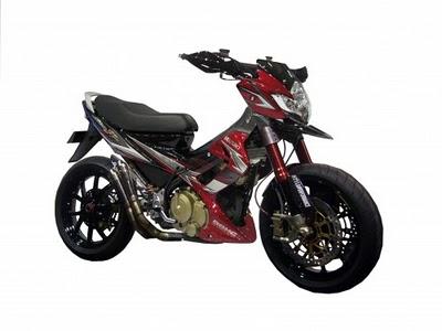Modifikasi Motor Satria FU 150: title=