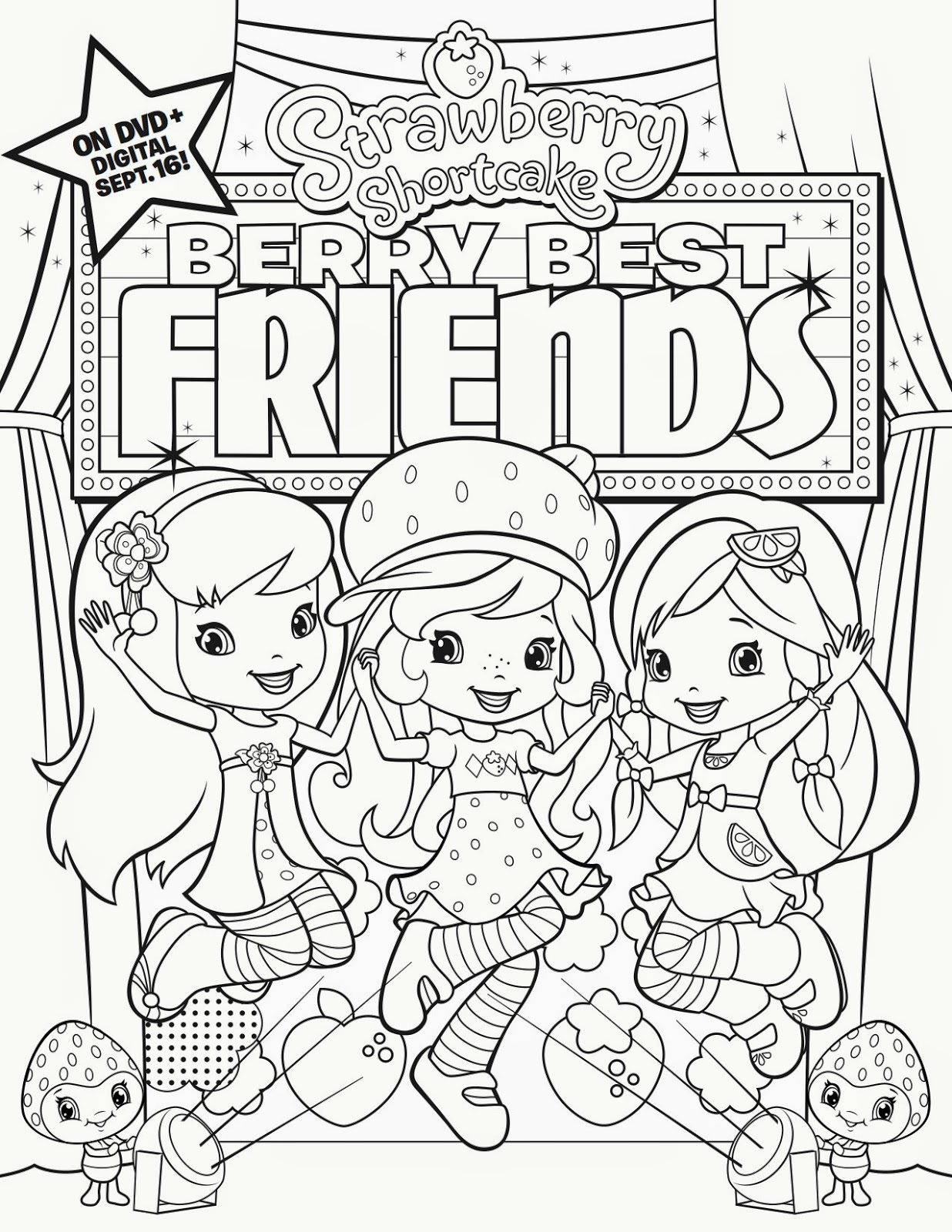 strawberry shortcake berry best friends berrybestfriends dvd giveaway