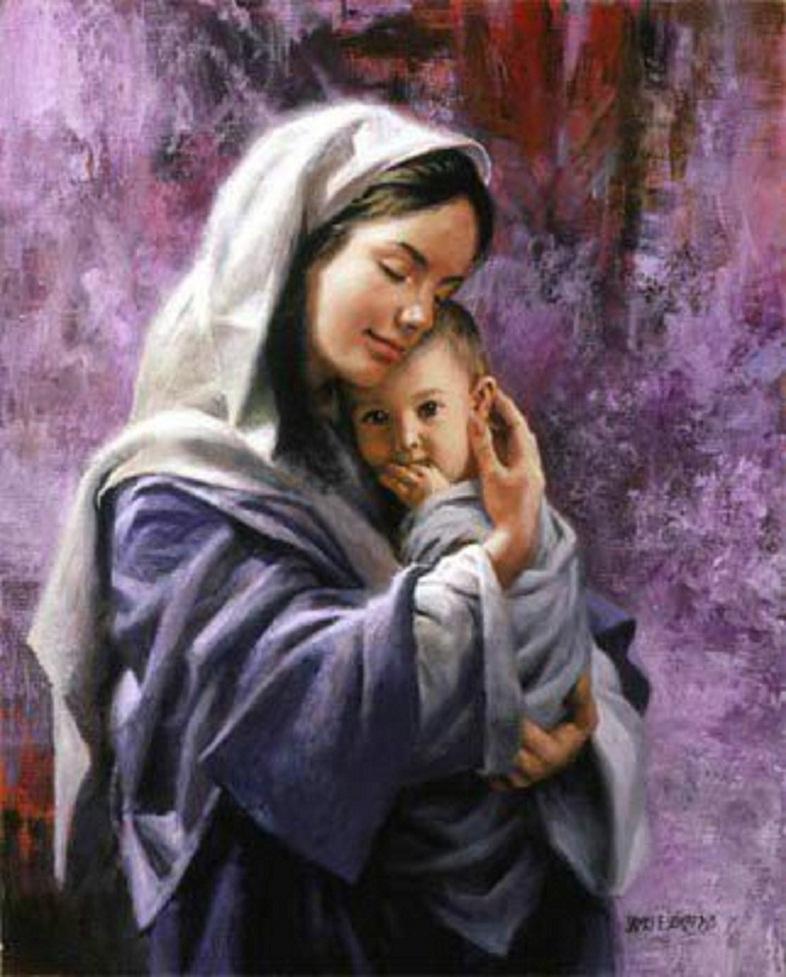 عکس آغوش مادر