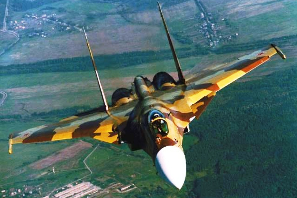 Sukhoi Su-37 Flanker-F Wallpaper 1