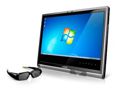 new NVIDIA Showcases Lenovo 3D L2363d Gaming Monitor