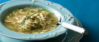 Sopa de champignon com frango light