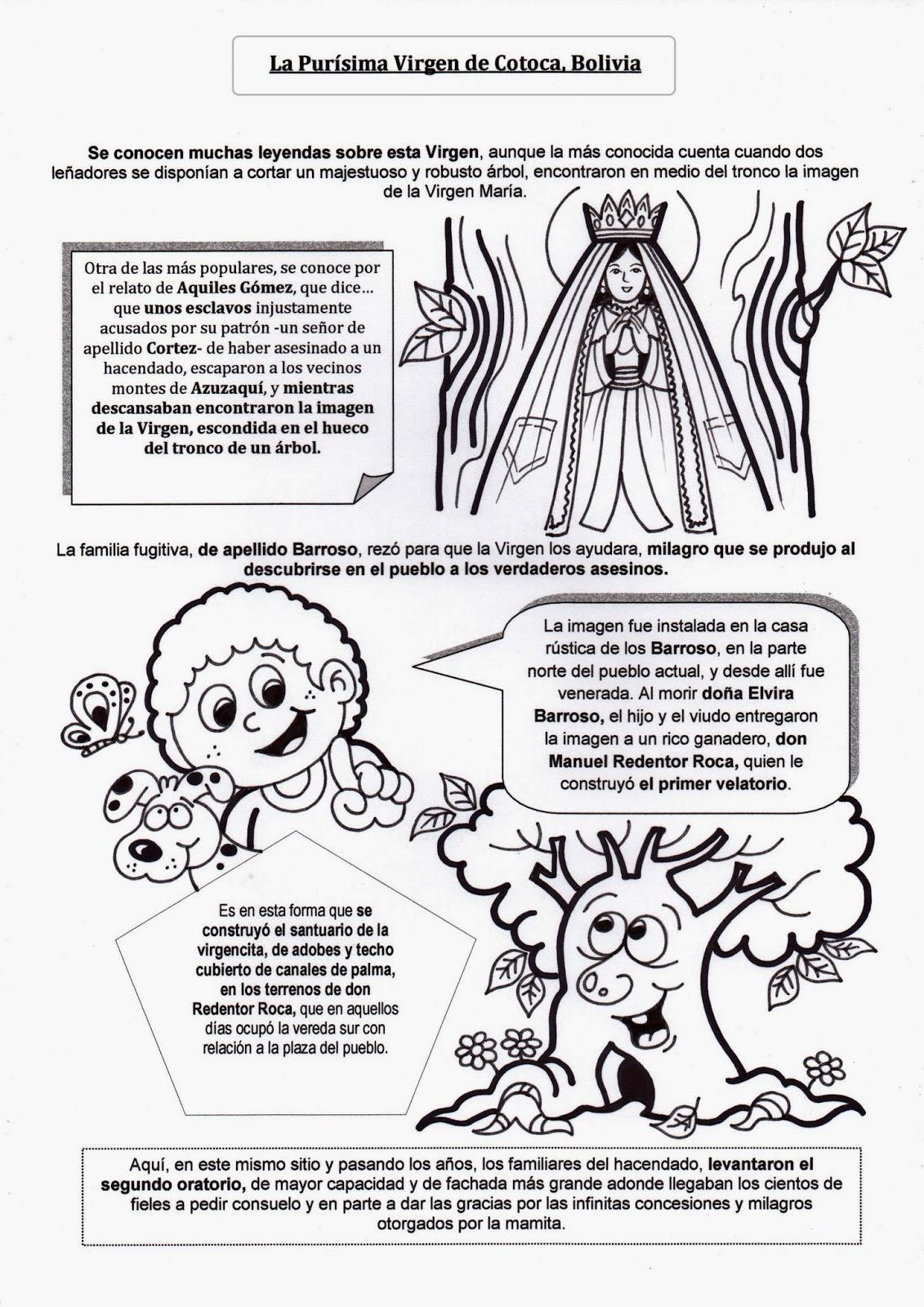 Virgen De Guadalupe Coloring Pages