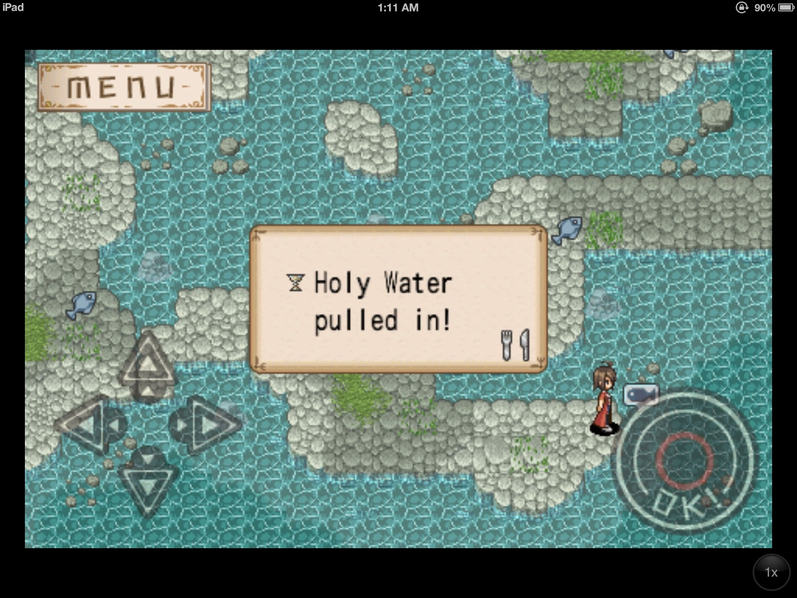 Adventure Bar Story - Fishing up Holy Water 2