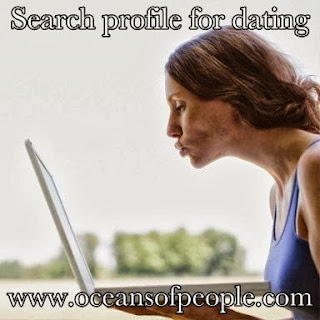 Search profile for dating