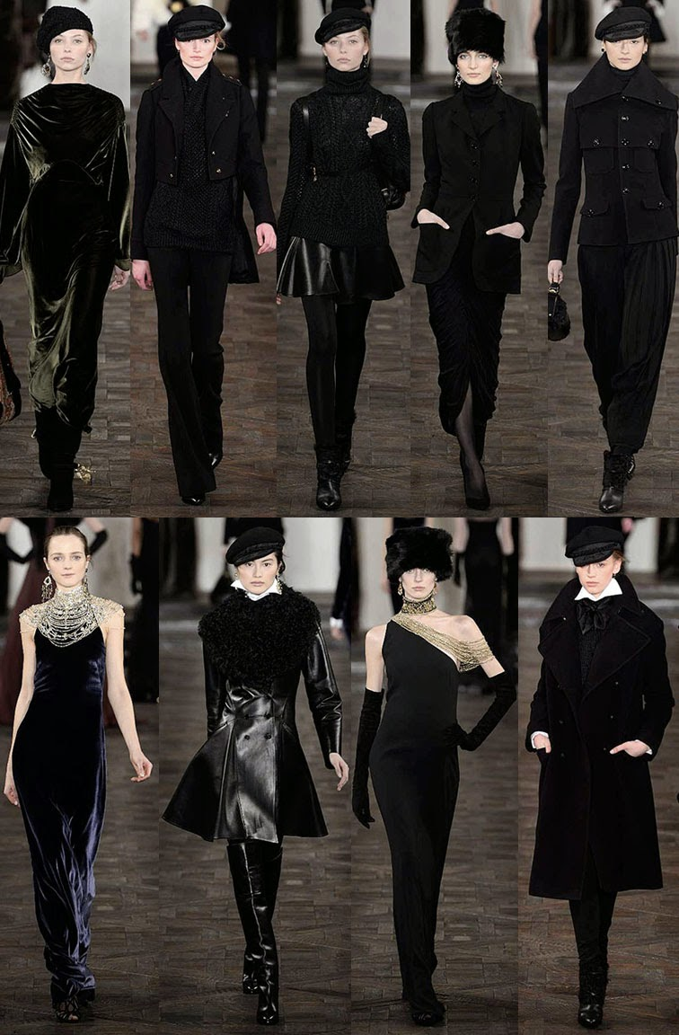 Ralph Lauren Collection Runway Fall 2013