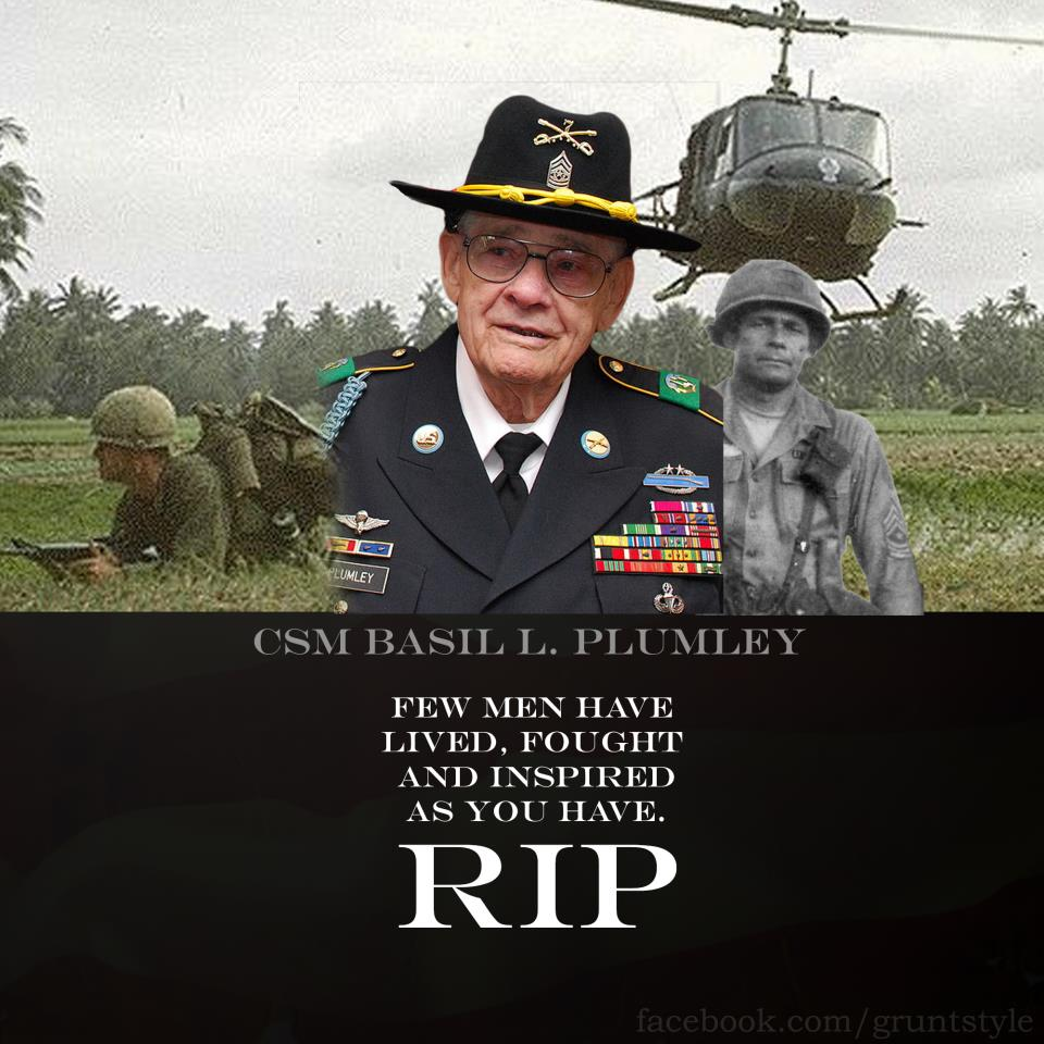 Prepology God Speed Command Sergeant Major Plumley