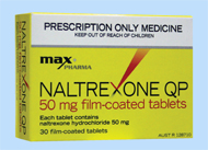 what is naltrexone taken for